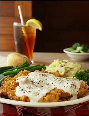 CHICKEN FRIED CHICKEN at Romano's Macaroni Grill