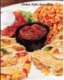 Chicken Fajita Quesadillas at Friendly's