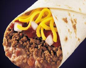 1/2 LB. BEEF COMBO BURRITO at Taco Bell