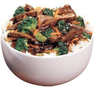 Steak Teriyaki Bowl at Jack in the Box