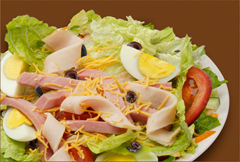 NY Deli Salad at Manhattan Bagel