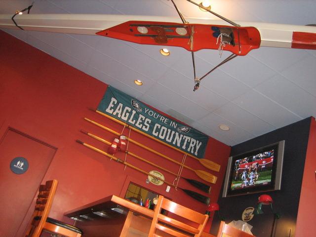 Interior at Jake's Steaks