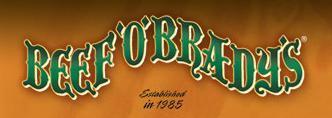 Logo at Beef O'Brady's