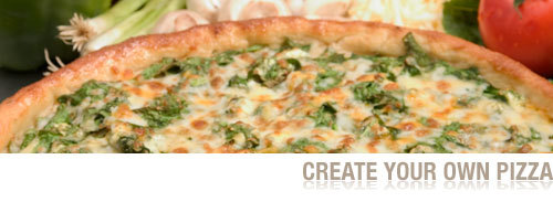 Create Your Own Pizza at Sarpino's Pizzeria