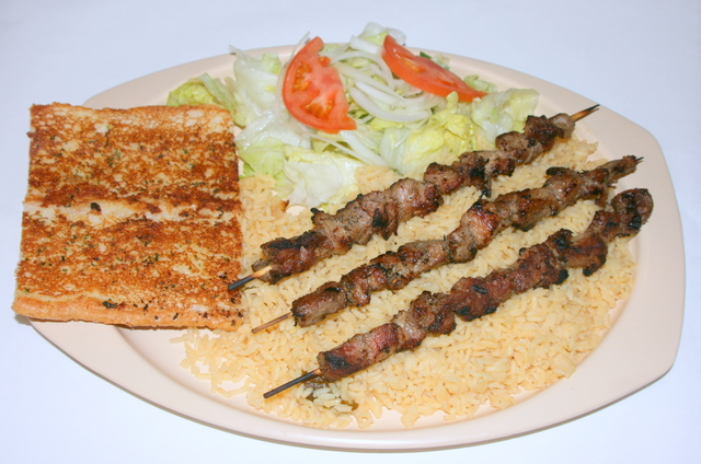 Photo of Souvlaki Plate
