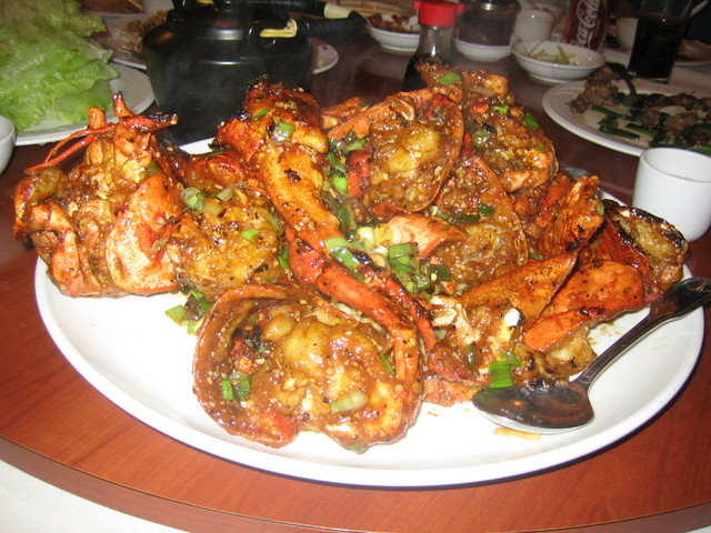 Lobster at Russell's Seafood Palace (CLOSED)