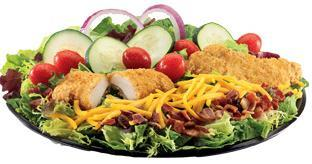 Chicken Club Salad at Jack in the Box