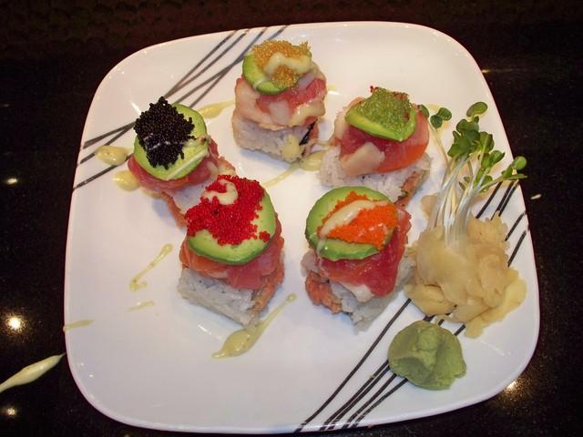 BON JOVI ROLL at Arisu Japanese Cuisine