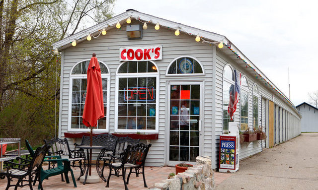 Exterior at Cooks Drive In