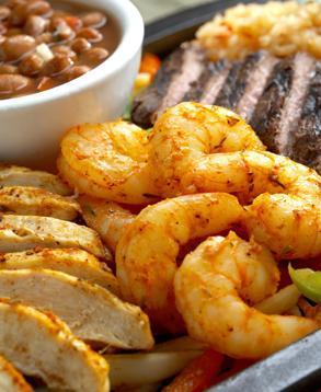 Dish at El Torito Mexican Restaurants