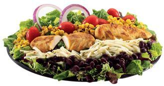 Southwest Chicken Salad at Jack in the Box