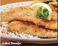 Grilled Flounder at Friendly's