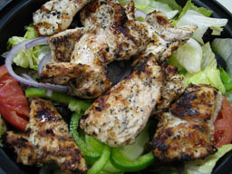 Salad w/Grilled Chicken at Di Pietro's Pizzeria