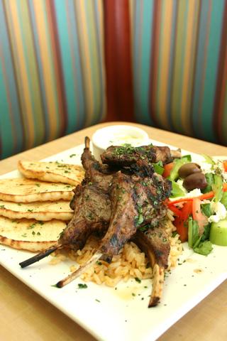 Lamb Chops at Kafe Neo