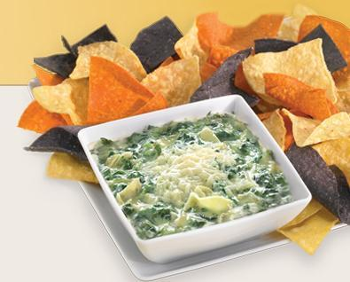 Spinach Artichoke Dip at Ruby Tuesday