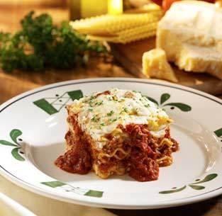 Lasagna Classico at Olive Garden