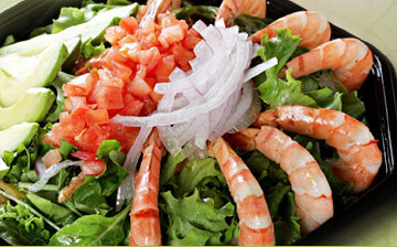 Photo of Black Tiger Shrimp Salad