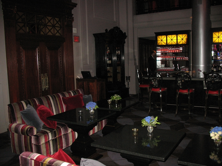 Lounge area facing the bar  - Restaurant Menu at XO