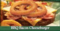 BBQ Bacon Cheeseburger at Beef O'Brady's