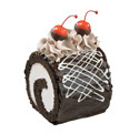 Fudge Mini Roll Cake at Dunkin' Donuts/Baskin Robbins
