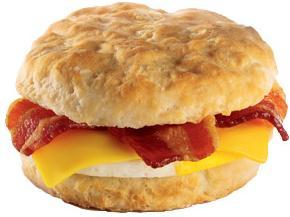 Bacon, Egg & Cheese Biscuit at Jack in the Box