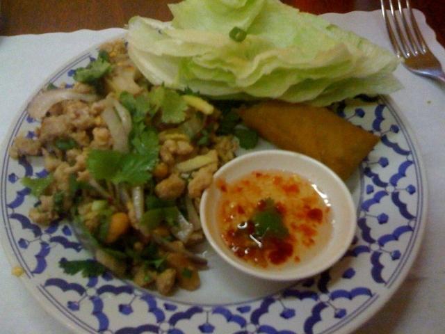 nam sod at Thai Pepper