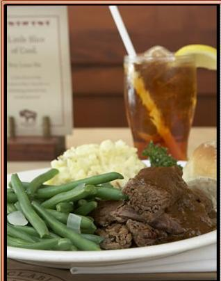 POT ROAST at Romano's Macaroni Grill