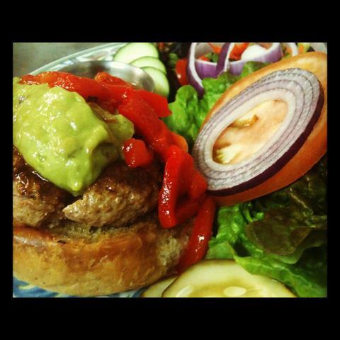 Turkey Burger at Redhound Grille