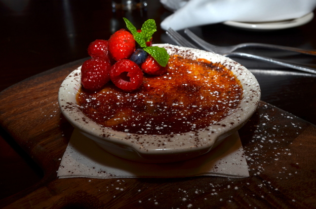 so amazing! I loved this - creme brulee at Mia Francesca Trattoria - Italian Restaurant