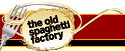 Logo at The Old Spaghetti Factory