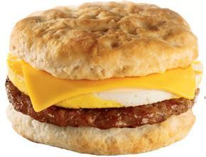 Sausage, Egg & Cheese Biscuit at Jack in the Box