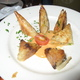 Crabmeat Turnovers at Twist