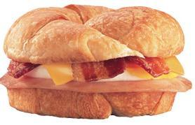 Supreme Croissant at Jack in the Box