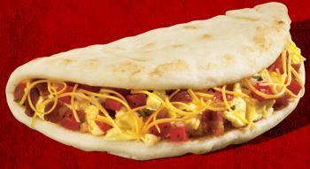 Dish at Taco Bell