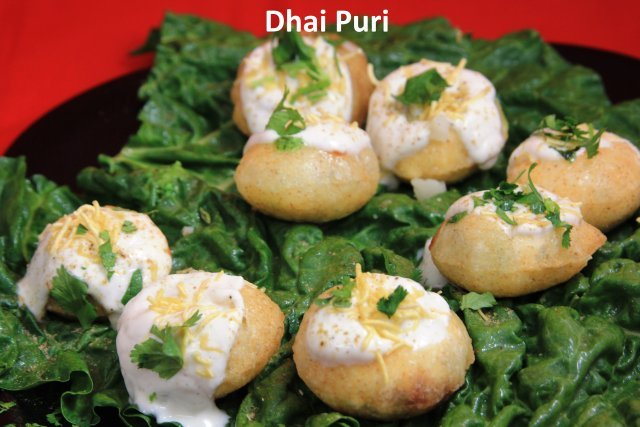 Dahi Puri at Standard Sweets and Snacks