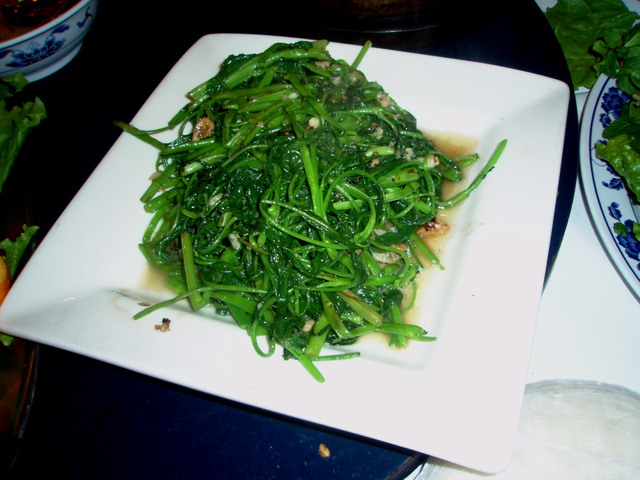 Water Spinach at Phong Dinh Restaurant