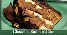 Chocolate Eruption Cake at Beef O'Brady's