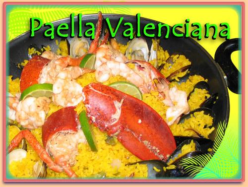 PAELLA VALENCIANA at Ramirez Restaurant