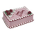 Floral Birthday Cake at Dunkin' Donuts/Baskin Robbins