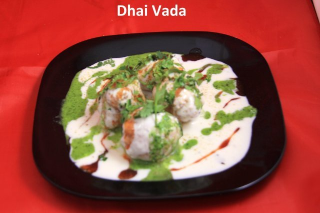 Dahi Wada at Standard Sweets and Snacks