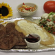Huaraches Sencillos con Crema, Queso y Salsa...  - Huarache at Clarita's Restaurant
