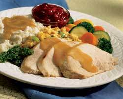 """Slow Roasted Turkey Breast """"Have Thanksgiving any day"""" at Mimi's Cafe"""