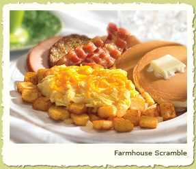FARMHOUSE SCRAMBLE at Coco's Restaurant & Bakery
