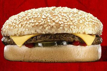 Cheese Burger at Del Taco