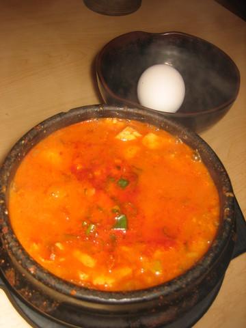 Kimchi Soon Tofu at Doobu
