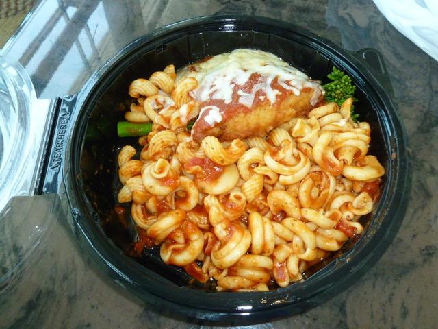 chicken parmesan special at Liberty Tavern Hilton