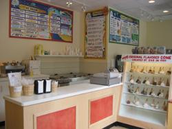 Interior at Emack & Bolio's