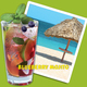 Blueberry mojito - Blueberry mojito at Cheeseburger in Paradise