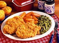 Fried Pork Chops at Cracker Barrel Old Country Store