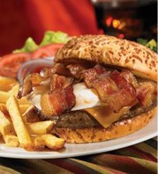 Bacon & Egg Cheeseburger at IHOP
